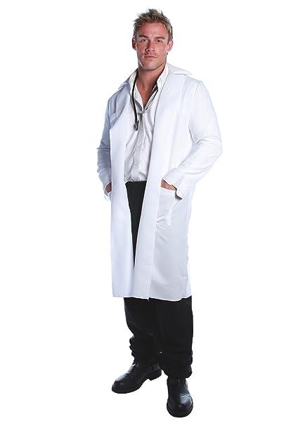 Bata Blanco para Hombre de algodón sanforizzato de Laboratorio Made in Italy: Amazon.es: Deportes y aire libre