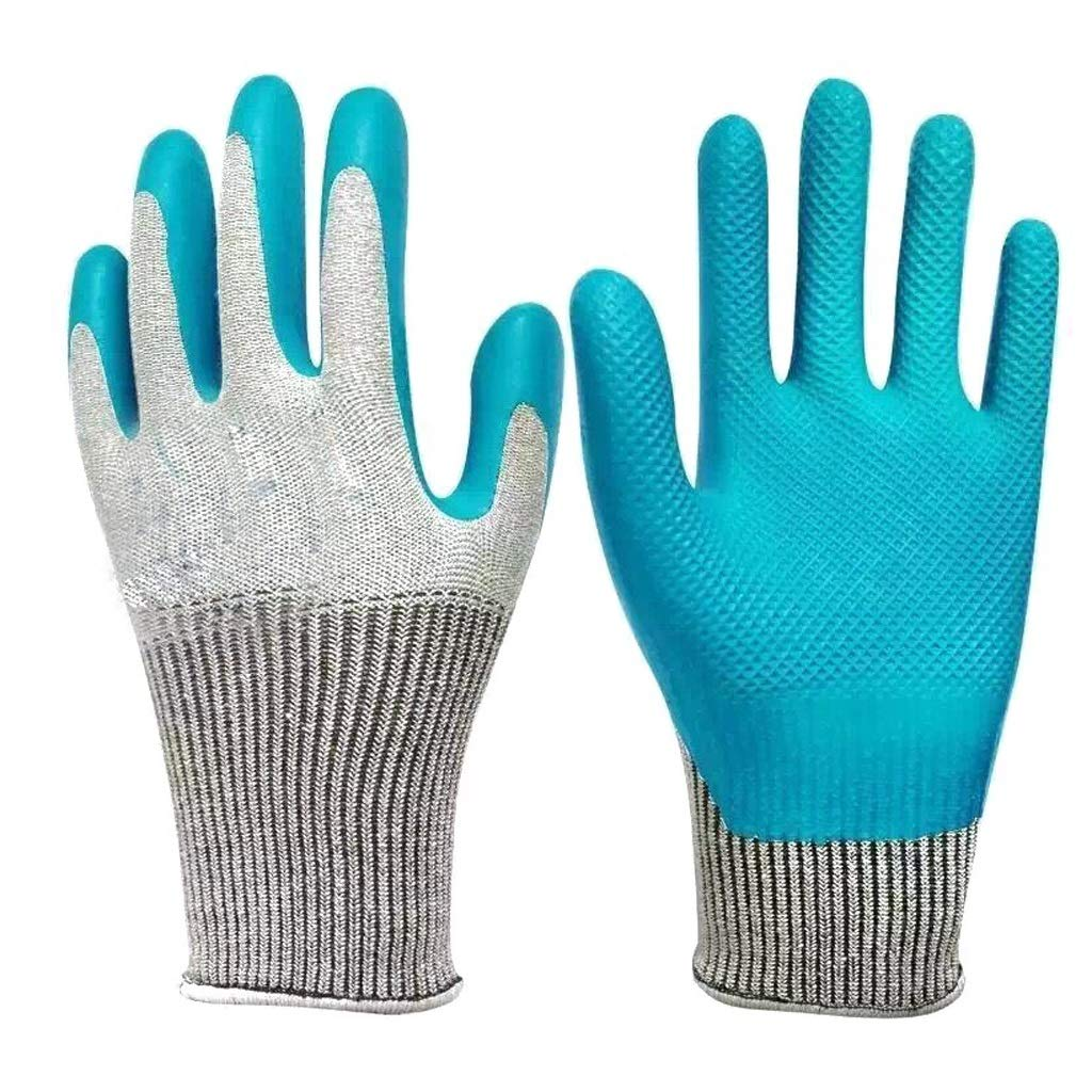 LZRZBH Working Gloves ,Industrial GlovesMultipurpose for for Men and Women Gardening, Gloves (Green,12 Pairs Per Pack) (Color : A)