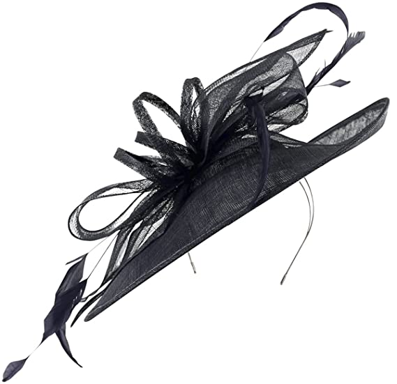 1baa9ba5 Max and Ellie Ascot Disc Headpiece in Navy, size: One Size: Amazon ...