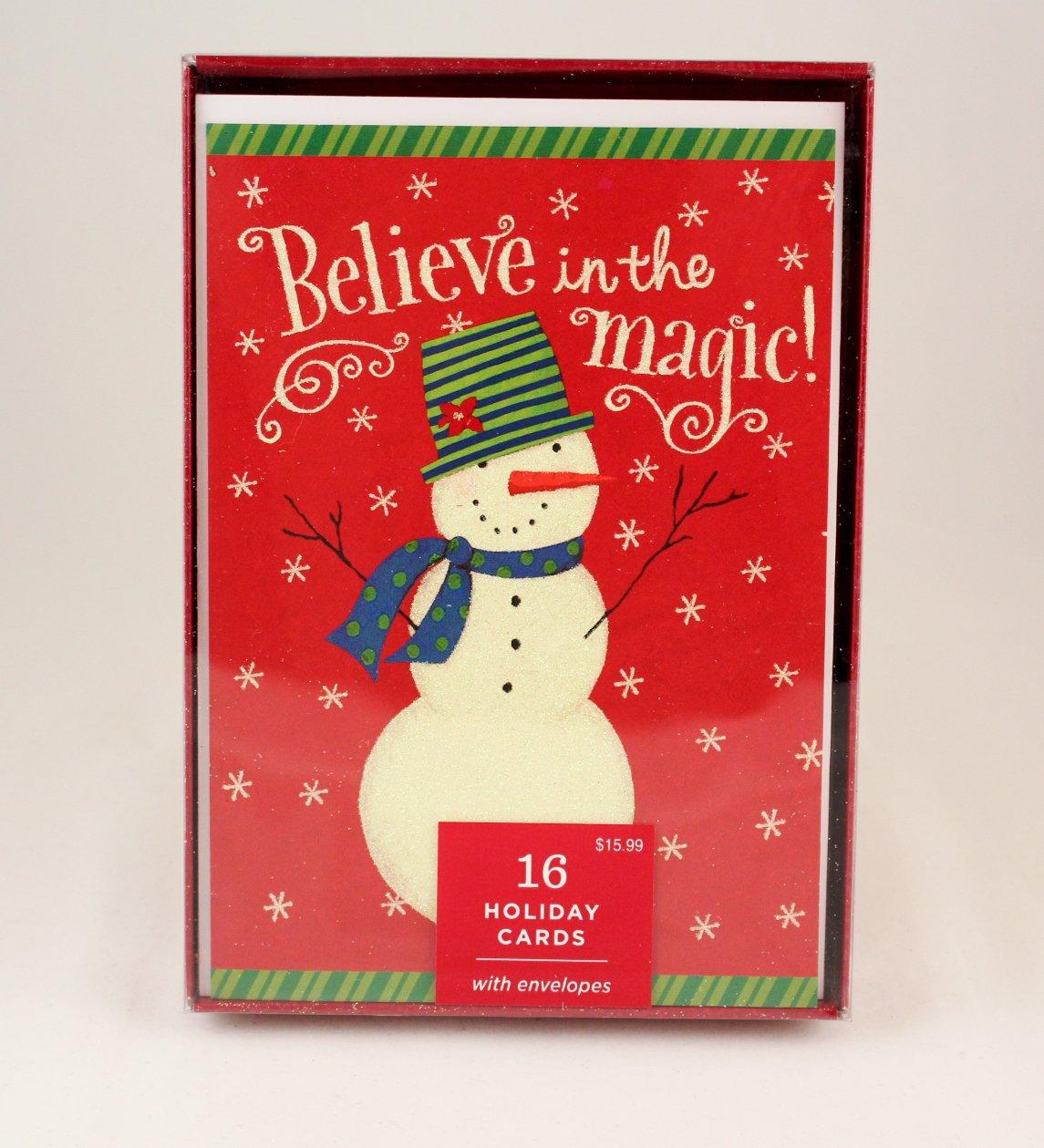 Amazon.com : Hallmark Dayspring Holiday Christmas Cards - Believe in ...
