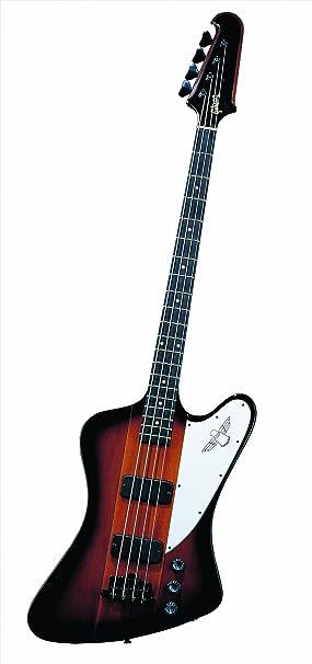 Gibson Thunderbird Bass Vintage Sunburst + Case bajo eléctrico de 4 Cuerdas Graves: Amazon.es: Instrumentos musicales