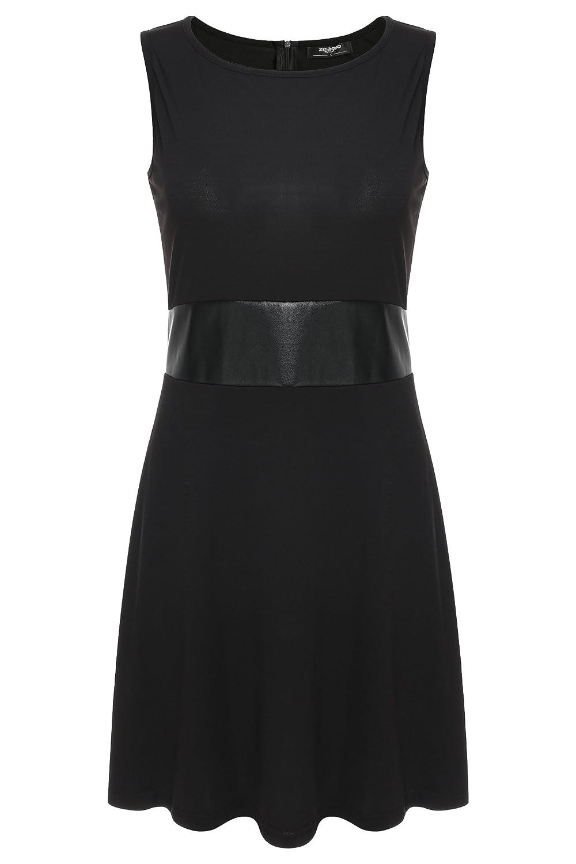 Zeagoo Damen Partykleid Abendkleid A-Linie Kleider Knielang günstig ...