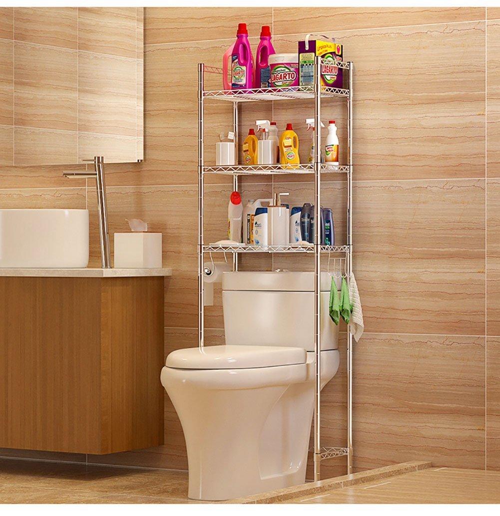 Amazon.com: DIDIDD Shelf-Hwf Bathroom Shelves Toilet Shelf Lavatory ...