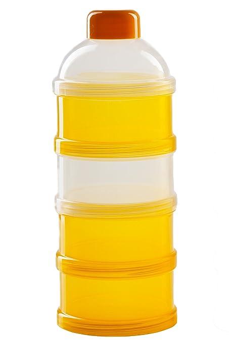 MILCHPULVER BEHÄLTER Baby Milchpulverportionierer für 4 Portionen °NEU°