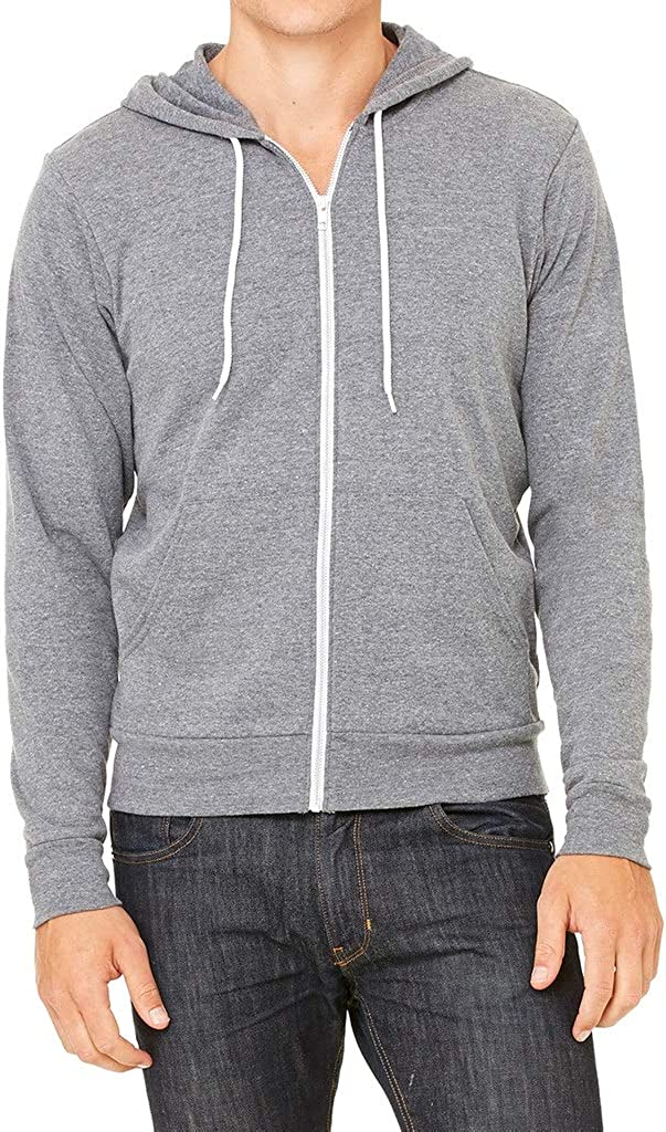 Koyotee Mens California Pot Bear C9 Gray Fleece Zipper Hoodie Gray