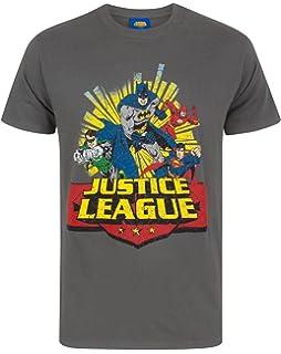 Mens Justice League-Superman Speech T-Shirt CID