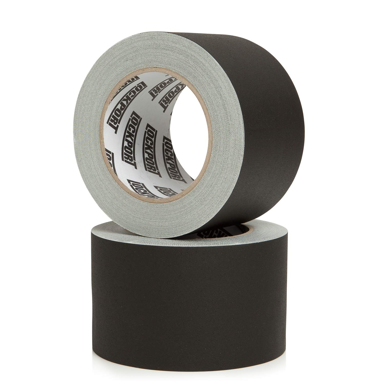 New: 3 Inch Black Gaffers Tape 30 Yards and 3 inches Wide Gaff- Bulk Set Gaffer Roll Refills Case Filming 2 Pack Multi-Pack Matte Cloth Fabric for Stage Sets,Photography Production Equipment