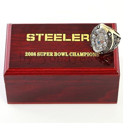 Amazoncom 2008 Super Bowl Pittsburgh Steelers Championship Rings