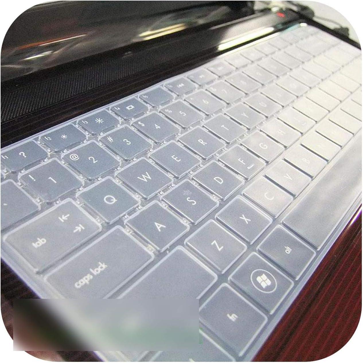 New Silicone Keyboard Cover for Hp Pavilion G4 Envy 4 6 Hp1000 Dv4 Cq45 Cq43 Hp450 1000 2000 431 Cq43-Transparent