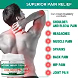 Raitera Hemp Cream for Pain Relief 100000MG, Pure