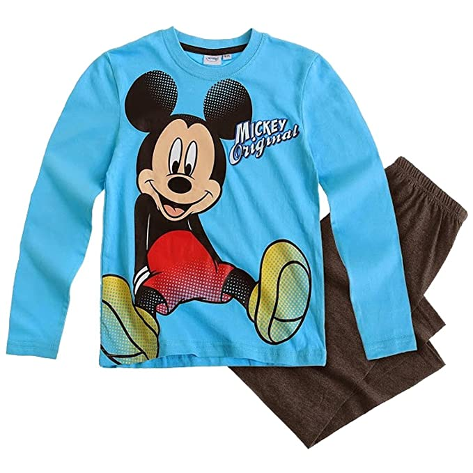 Disney - Pijamas enteros - para bebé niña Azul azul claro
