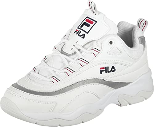 Fila Ray Scarpa White/Silver: Amazon.it: Scarpe e borse