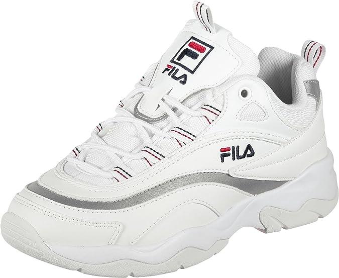 Fila Ray Schuhe White/Silver: Amazon.de: Schuhe & Handtaschen