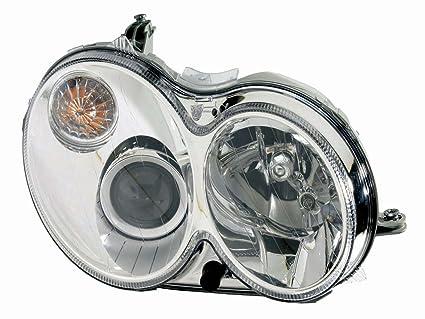 Amazon com: For 2006 2007 2008 Mercedes Benz Clk Headlight