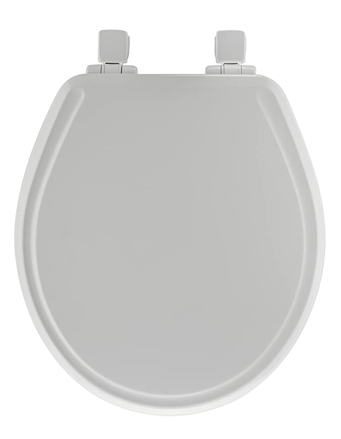 Mayfair 48SLOWA 000 SMolded Wood Toilet Seat featuring Whisper-Close