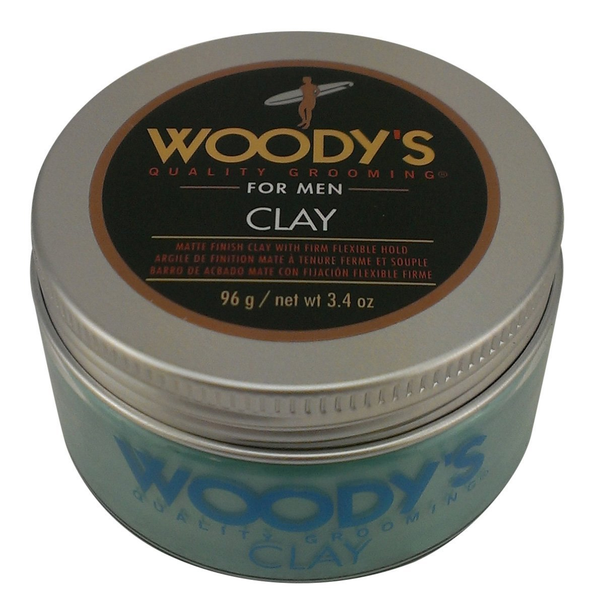 Woody's Matte Finish Clay for Men, Styling, 3.4 Ounce Woody's WDY90597