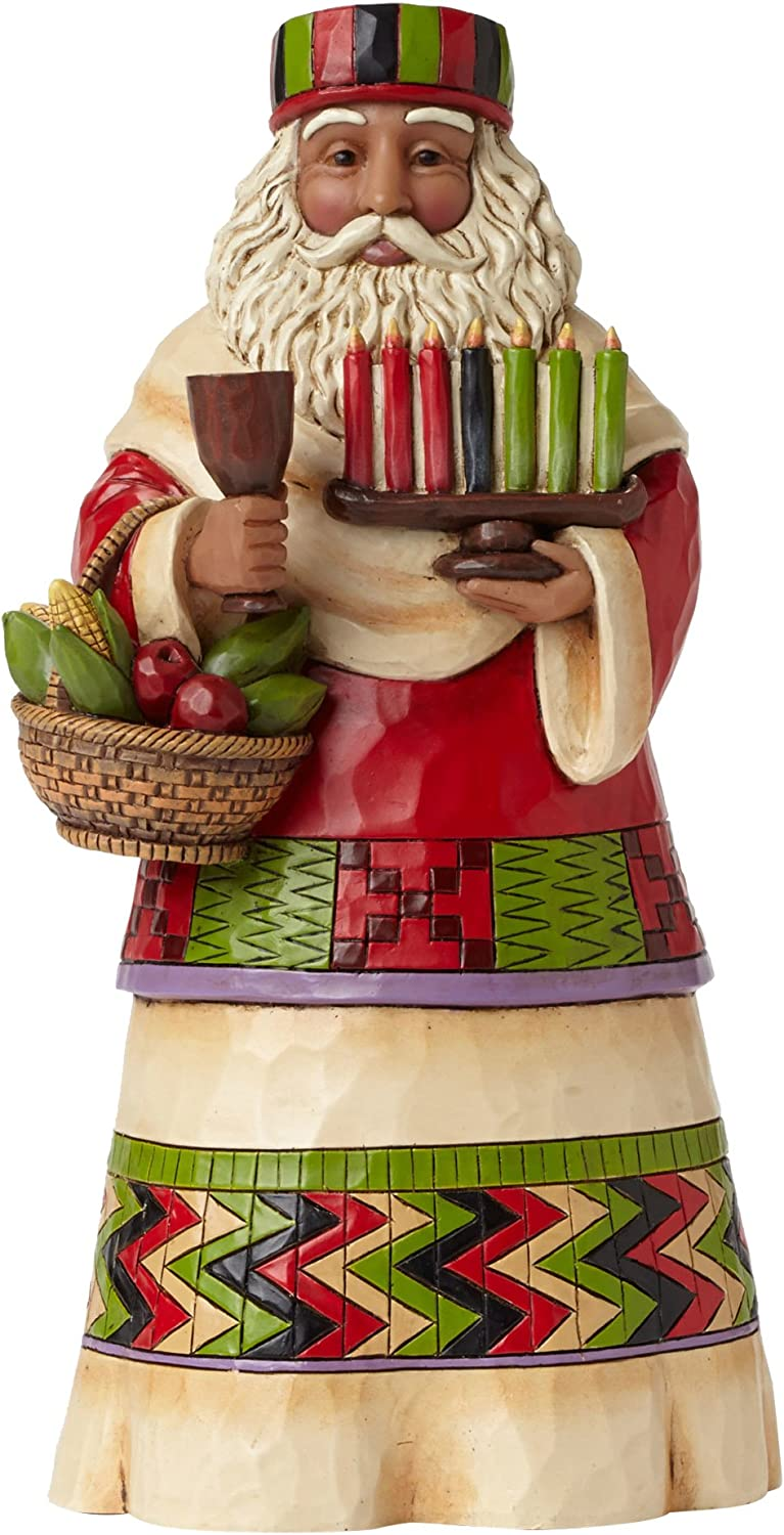 Jim Shore Heartwood Creek African Santa Stone Resin Figurine