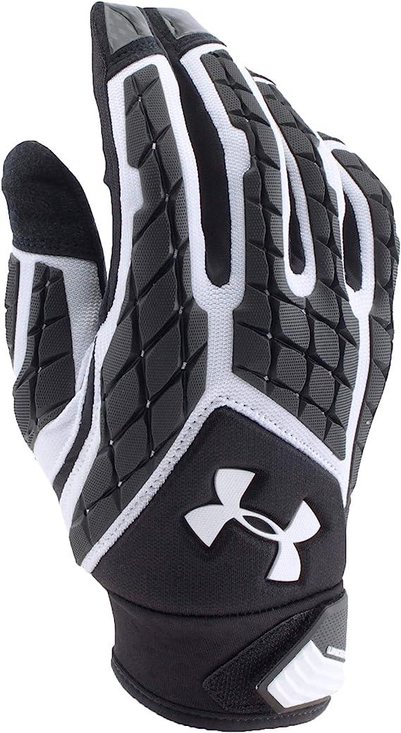 Under Armour Mens UA Combat III Full Finger Lineman Football Gloves NWT per pair