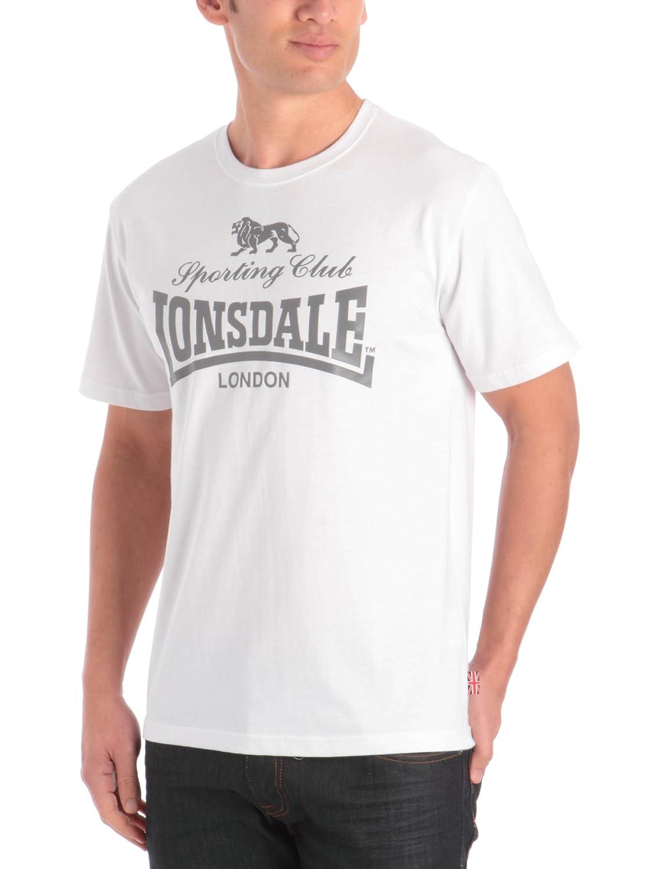 Lonsdale London T-Shirt Sporting Club - Camiseta deportiva con mangas cortas para hombre: Amazon.es: Ropa y accesorios