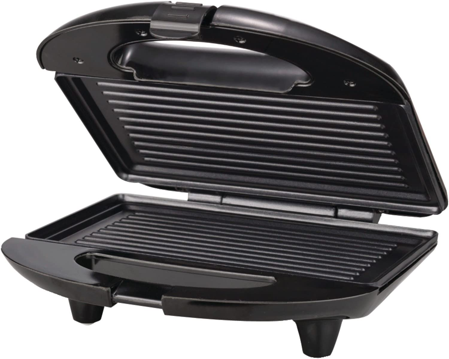 Brentwood TS-246 Panini Press and Sandwich Maker Non-Stick, Black