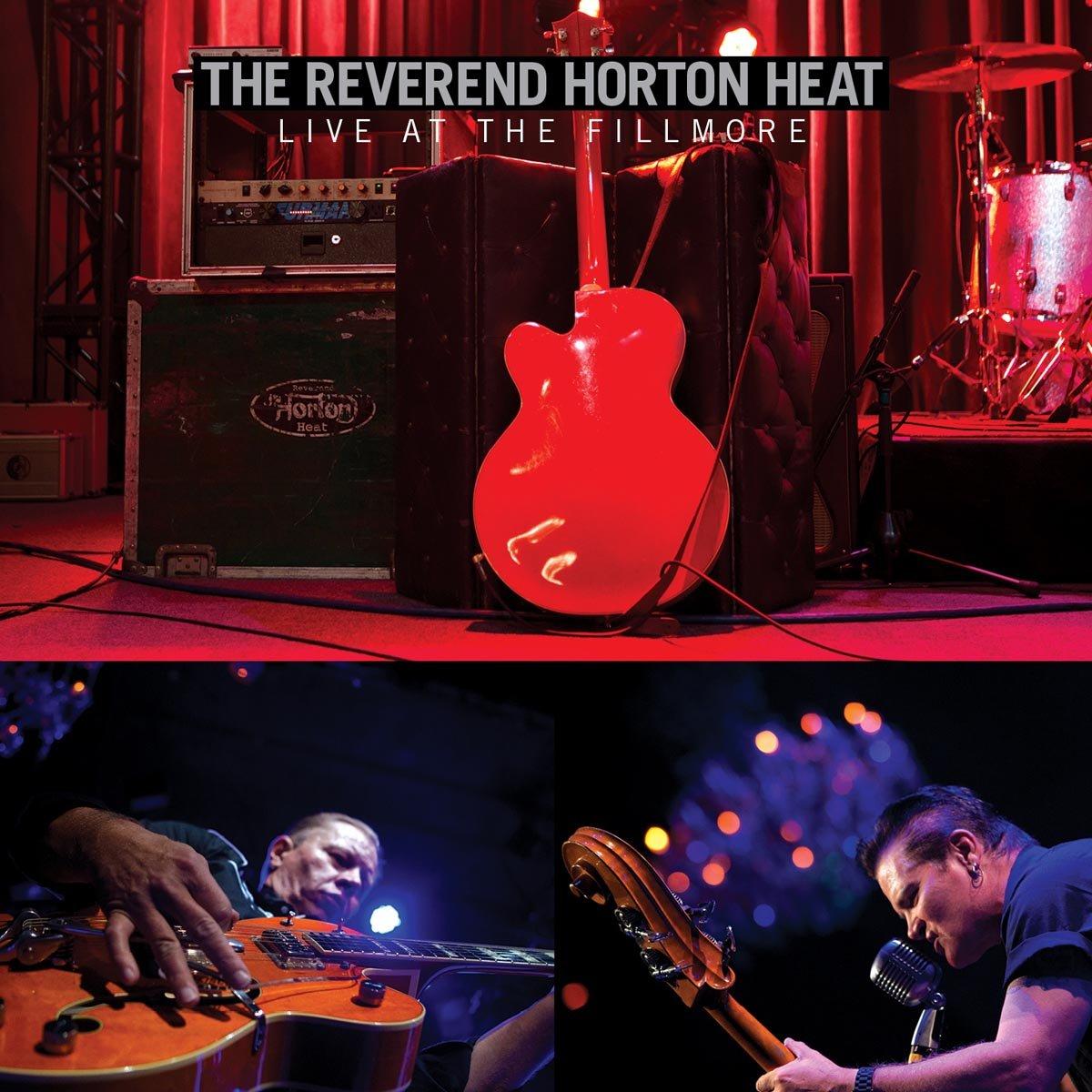 CD : The Reverend Horton Heat - Live At The Fillmore (CD)