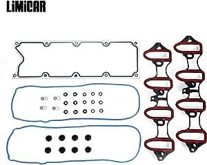 LIMICAR Intake Manifold Gasket Set MIS16340 Compatible with Chevrolet Avalanche Express GMC Sierra 1500 GMC Yukon