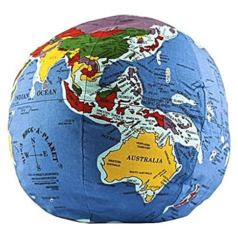Give Kids The World Map.Amazon Com Hugg A Planet Classic Political Earth Toys Games
