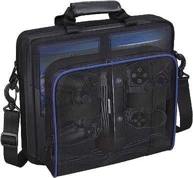 villavivi Storage Bolsa Mochila para PS4, PS4 Pro, PS4 Slim ...