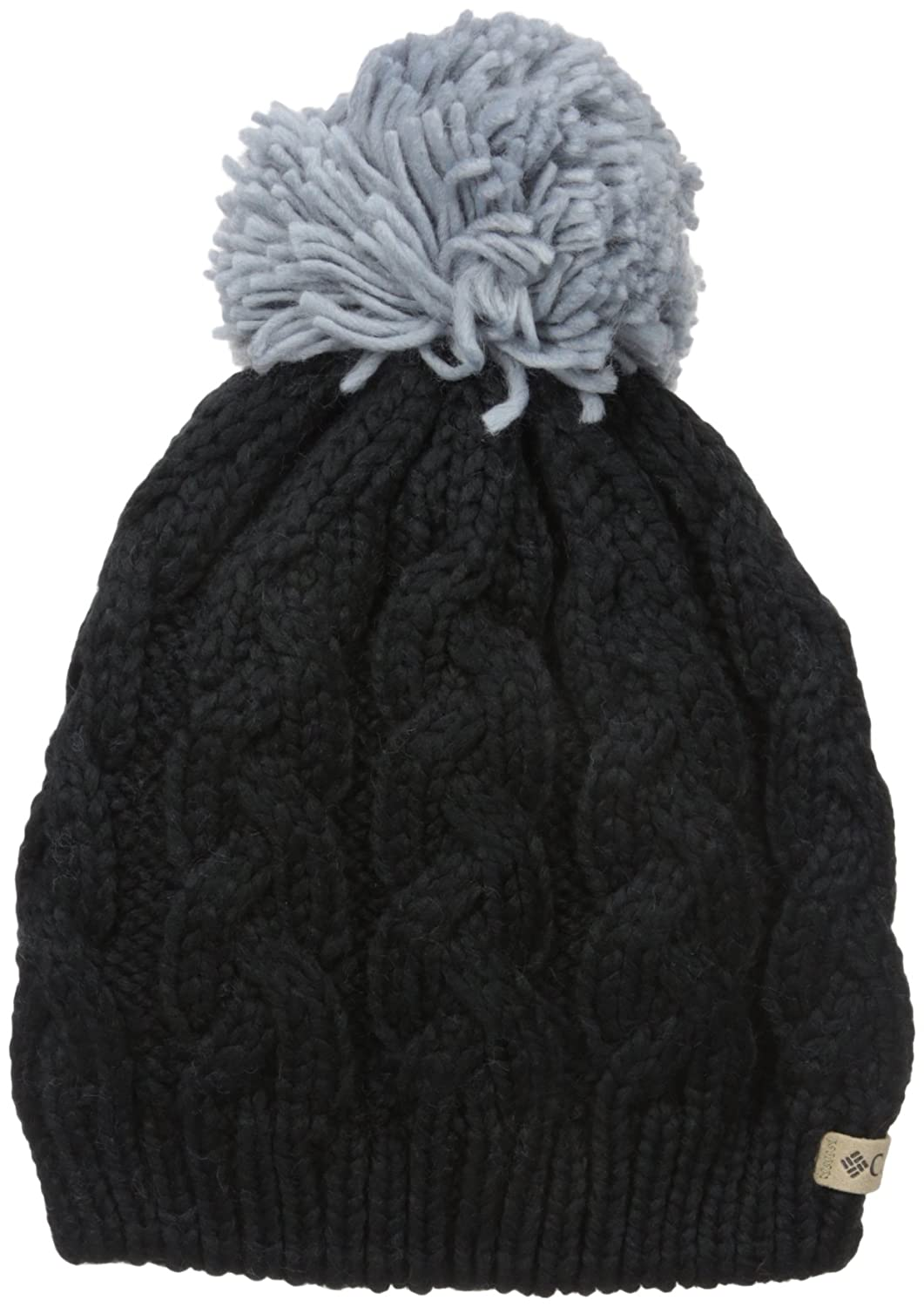 Columbia in-bounds Beanie gorro para mujer, Black/Tradewinds Grey, FR: Talla unique (talla fabricant...