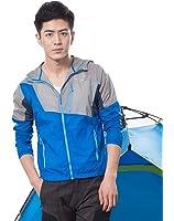 Men / Women Windproof Skin Coat UV Sun Protection Quick Dry Hooded Jacket by Makino