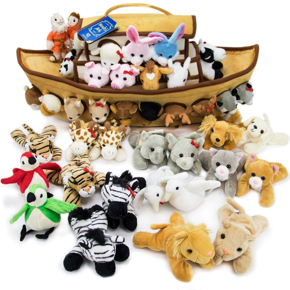 2-Foot Noah's Ark Plush Toy Playset