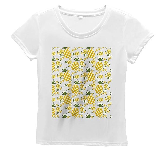 d3cc1c9c3848c Image Unavailable. Image not available for. Color  Lunarable Pineapple  Women s T Shirt ...