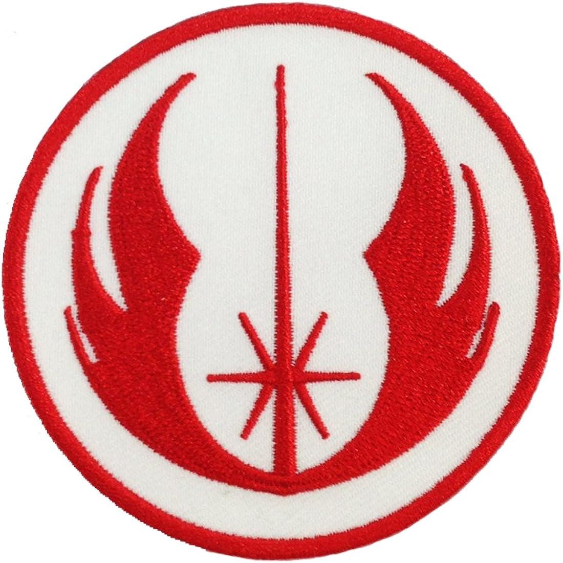 Star Wars Jedi Logo bordado hierro parches: Amazon.es: Ropa y ...