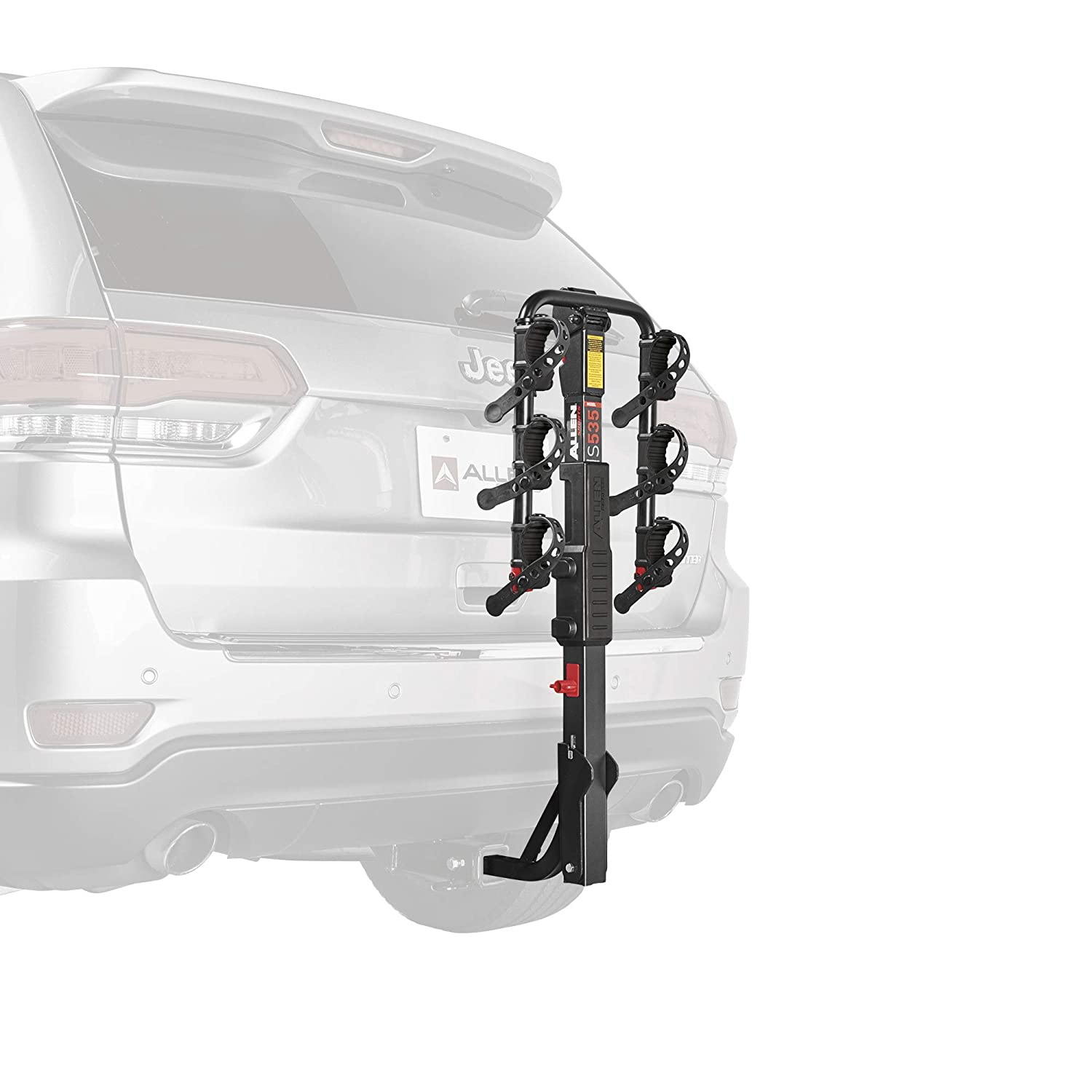Hitch Allen Sports 3-Bike Hitch Racks for 1 1//4 in and 2 in