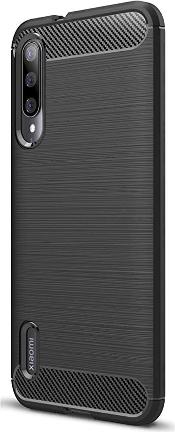XINFENGDI Xiaomi CC9e Funda, TPU Slim Silicona Case Cover [Anti-arañazos] Funda para Smartphone Xiaomi CC9e - Negro: Amazon.es: Hogar