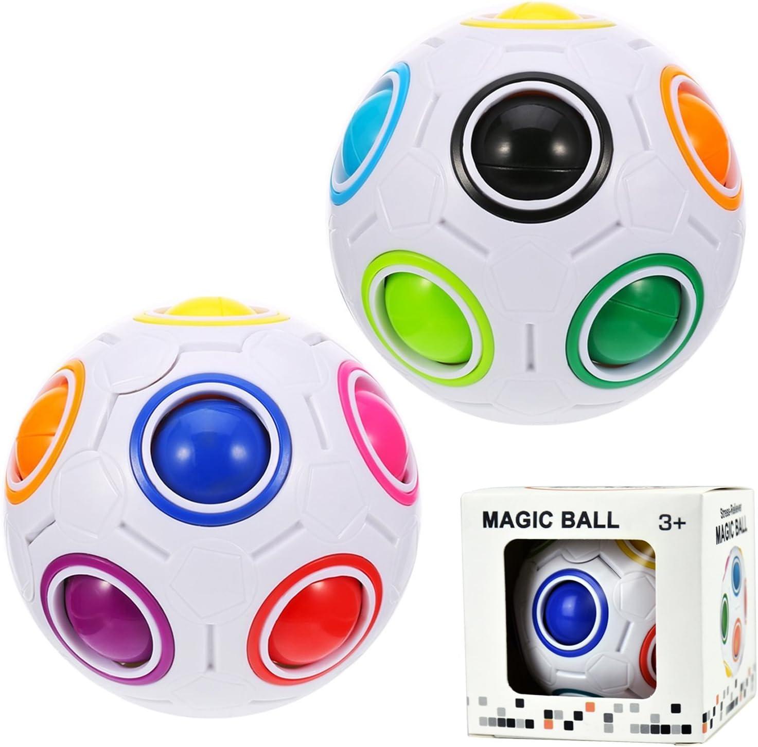 Rainbow Puzzle Ball Cube Magic Rainbow