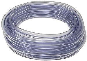 Rollerflex Food Grade Crystal Clear Vinyl Tubing, 1/2-Inch ID x 5/8-Inch OD, 50-FT