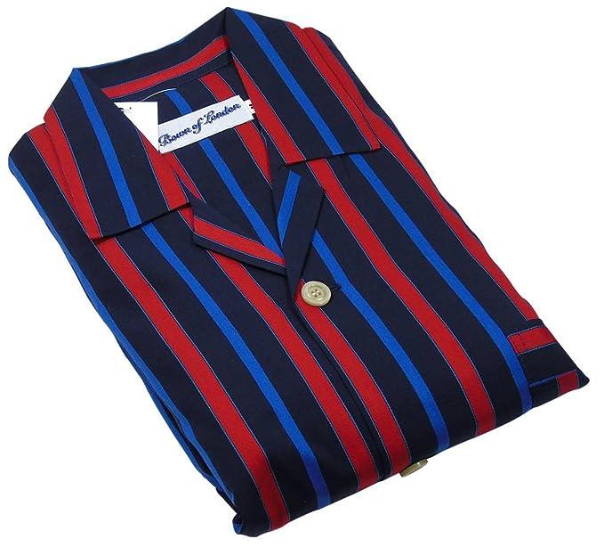 Odzież, Buty i Dodatki Piżamy i koszule nocne Bown of London Knightsbridge Pyjamas Black/Red/Blue
