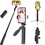 Video Stabilizer Phone Gimbal Stabilizer Tripod Bluetooth Selfie Stick Handheld Anti-shake Holder Cell Phone Stand for Smartp