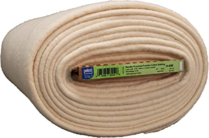 96 x 30 yd Hobbs Batting Heirloom Premium Fusible Unbleached Cotton Blend 96in x 30yds