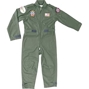 Top Gun Enfants Pilot Flight Suit
