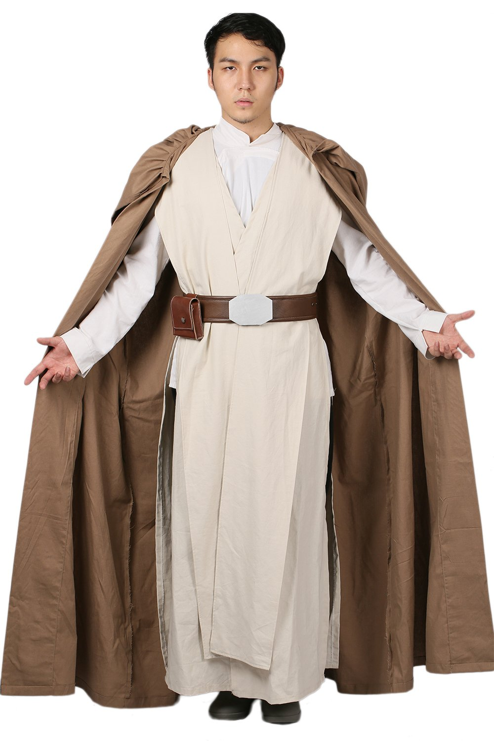 Xcostume Luke Costume Outfit Deluxe Cape Tunic Belt Adult Cosplay Suit L