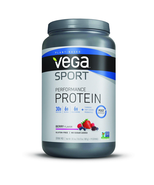 Vega Sport Protein Powder, Berry, 1.77 lb, 19 Servings