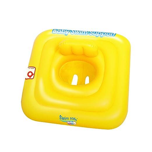 Asiento Flotador Hinchable para Bebés: Amazon.es: Jardín