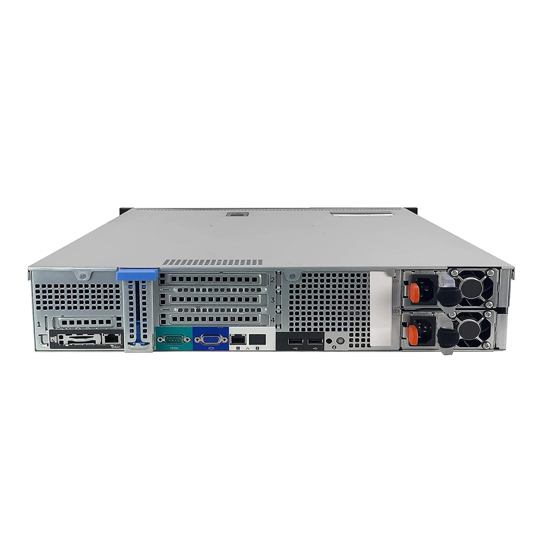 TechMikeNY Server 1x 2.40Ghz E5-2407v2 QC 8GB High-End PowerEdge R520 Renewed