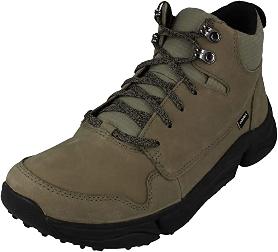 Clarks Tri Path Hike Leather Boots in