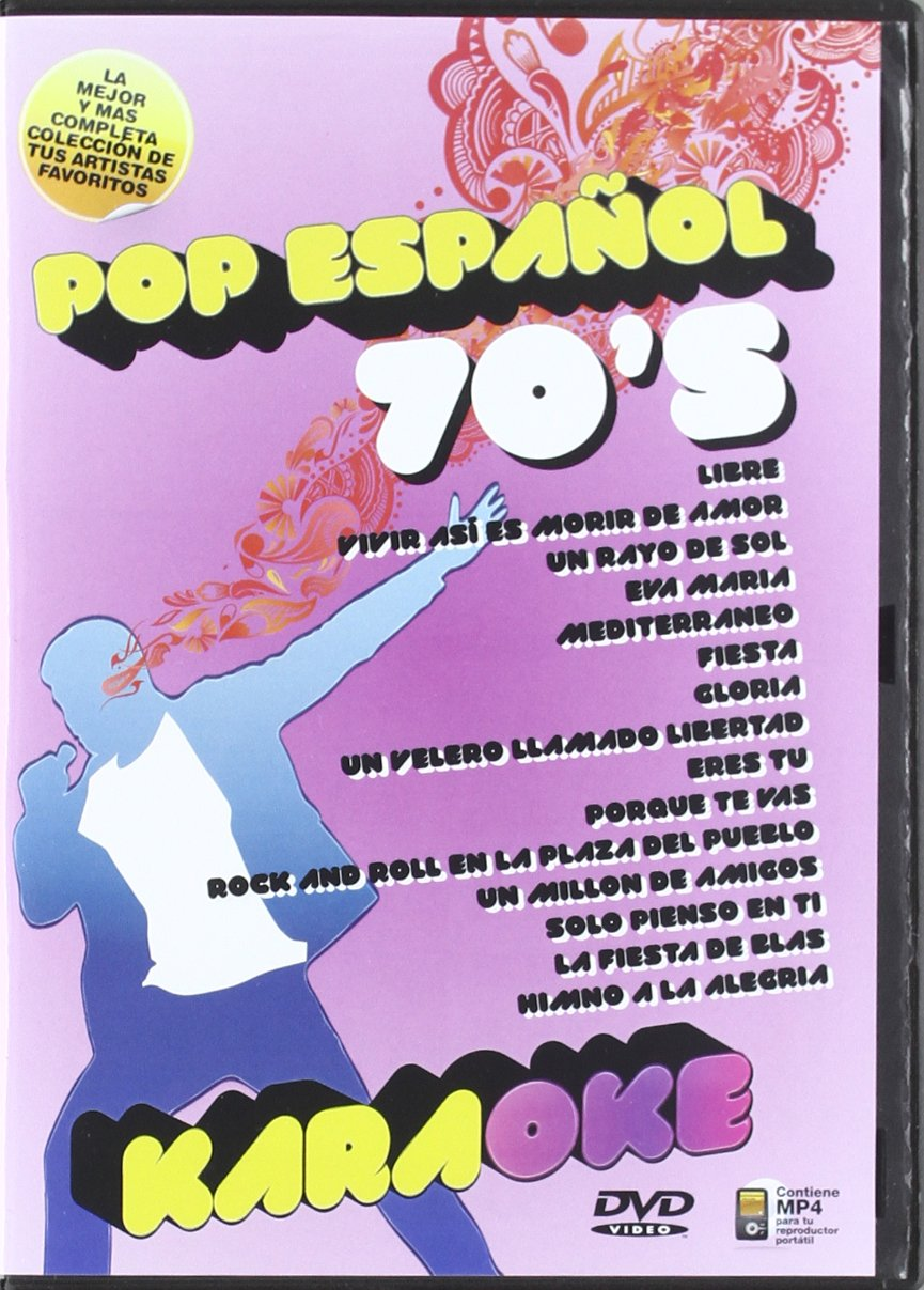 Karaoke - Pop Español 70'S [DVD]