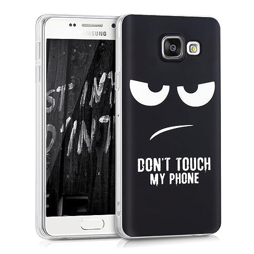 44 opinioni per kwmobile Cover per Samsung Galaxy A3 (2016)- Custodia in silicone TPU- Back case