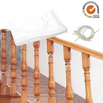 Railnet De Securite Pour Enfants Pour Balcons Interieurs Et Terrasses Exterieures Filet De Rail D Escaliers De Securite Pour Bebe Filet De Securite