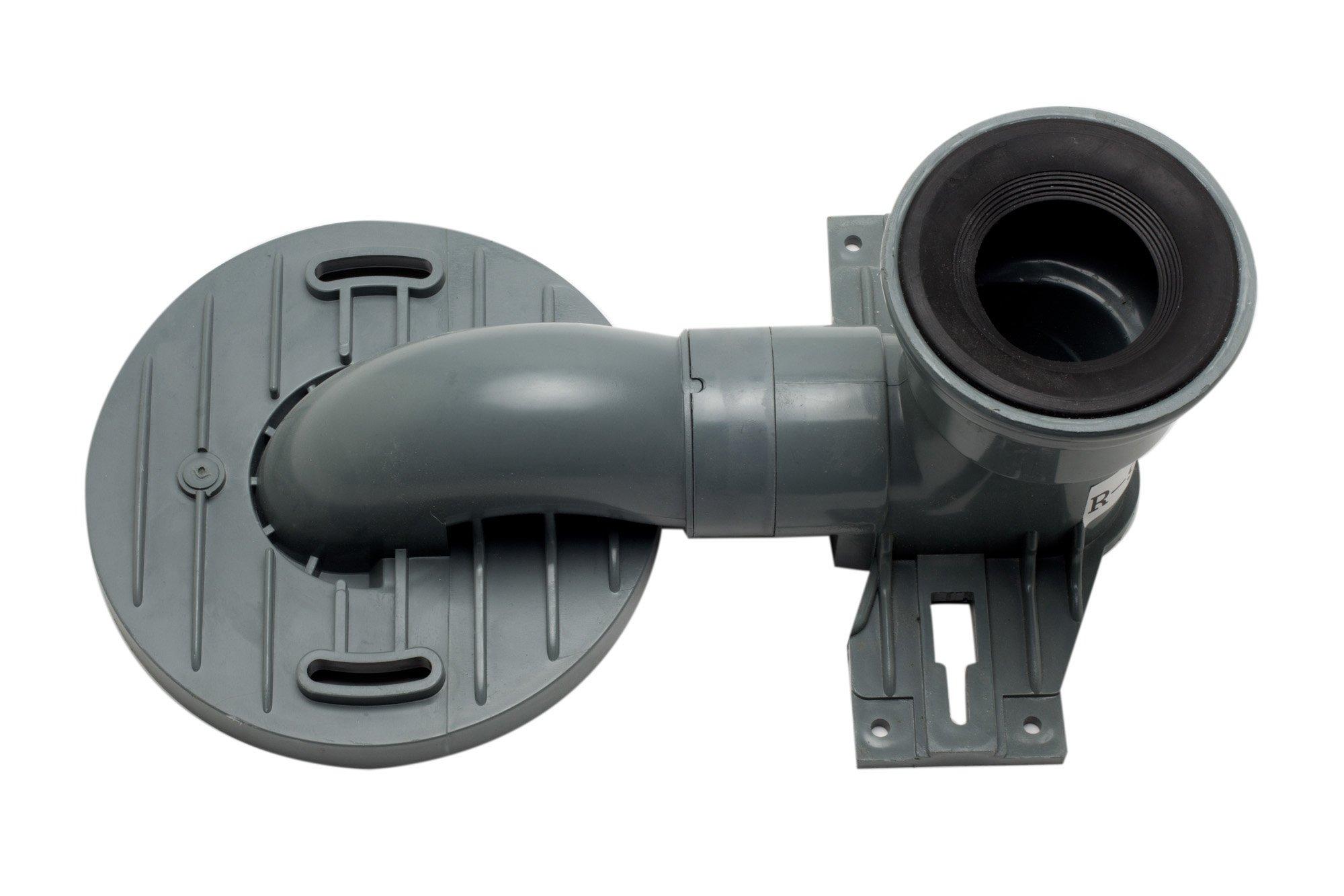 EAGO R-999TRAP Replacement PVC Toilet Trap TB336/TB358/TB351/TB353 by EAGO